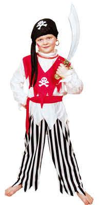 Pirat Piraten Kostum Seerauber Freibeuter Kinder Junge Jungen