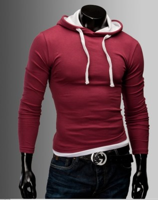 merish pulli slim fit kapuzen pullover herren hemd jacke t. Black Bedroom Furniture Sets. Home Design Ideas