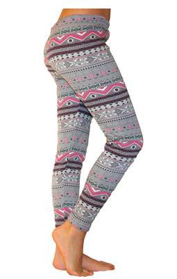 kinder m dchen jungen leggings hose leggins mit fleece norweger leoparden muster ebay. Black Bedroom Furniture Sets. Home Design Ideas