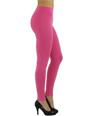 Damen Leggings Leggins lang hoher Bund blickdicht Baumwolle Hose Wäsche