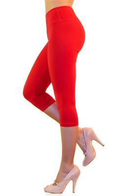 damen capri 3 4 leggings leggins baumwolle hose w sche. Black Bedroom Furniture Sets. Home Design Ideas