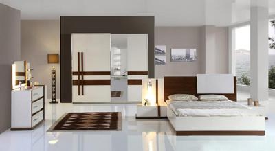 Komplett Schlafzimmer NEED Luxus Stilmöbel inkl Schminktisch Weiss ...