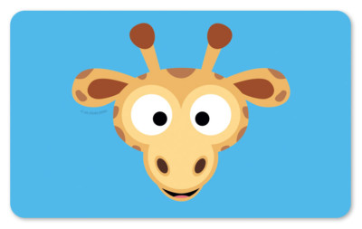 Schneidebrett clipart  Frühstücksbrettchen Giraffenkopf Schneidebrett | eBay