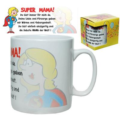 tasse riesen becher super mama kaffeebecher xxl 750 ml kaffeepott mutter ebay. Black Bedroom Furniture Sets. Home Design Ideas