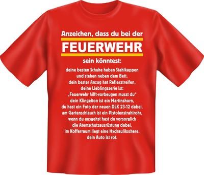 fun shirt feuerwehr, t-shirt sprüche feuer brand löschen witzig