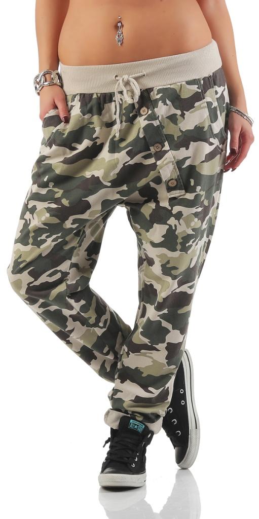 mississhop damen hose sweatpants mit camouflage print. Black Bedroom Furniture Sets. Home Design Ideas