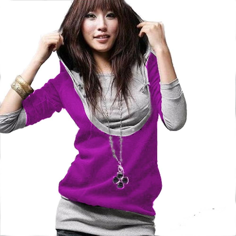 damen japan style tunika longshirt pullover sweatshirt. Black Bedroom Furniture Sets. Home Design Ideas
