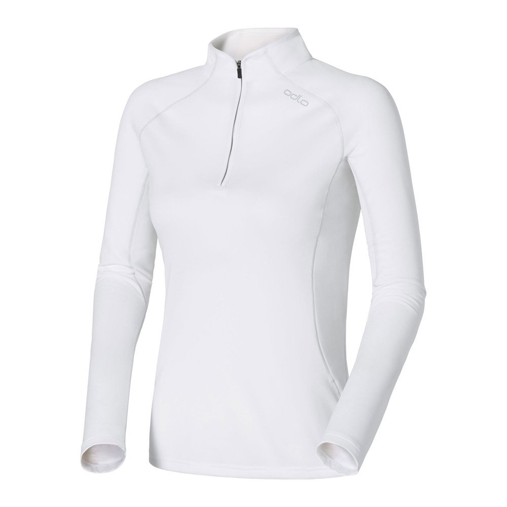 Odlo Midlayer 1/2 Zip Cima Tosa 221531 Fleece Damen weiss UVP* 69,95