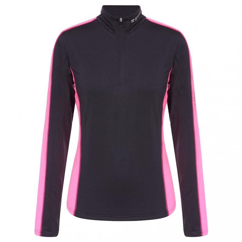 Icepeak Rosina Thermal Skirolli Funktionsshirt anthrazit *UVP 24,95