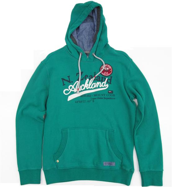NZA New Zealand Auckland Hoodet Sweat 13GN320 Herren fall green *UVP 99,95