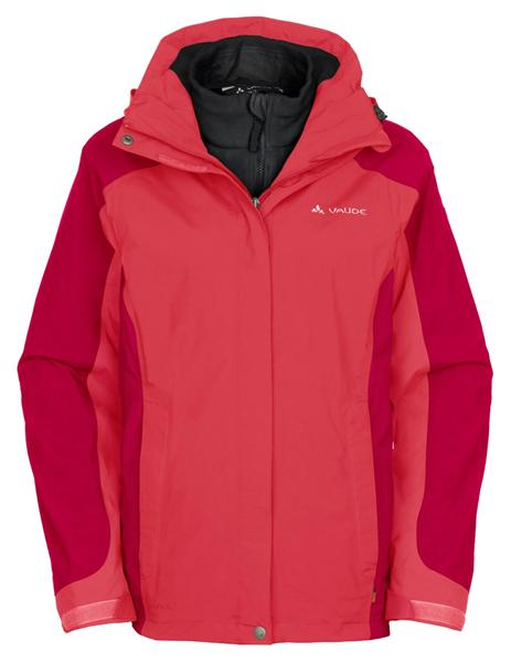 Vaude Kintail III 05343 3-in-1 Jacket Damen Doppeljacke flame *UVP 199,95