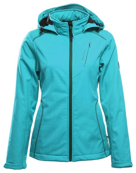 Linea Primero Softshelljacke G783506 Outdoor Damen deep sea *UVP 99,95