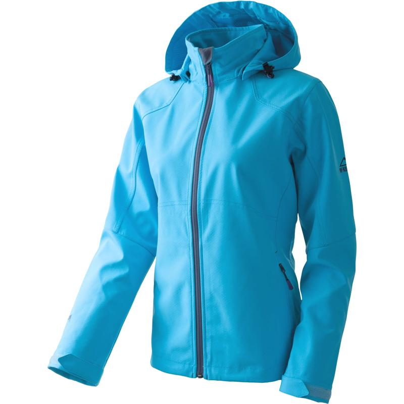 McKinley Clarksville wms 228344 Softshelljacke Damen blue light *UVP 69,95