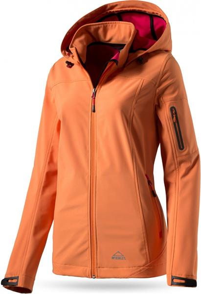 McKinley Birch Creek 2 Damen Softshell Jacke orange dark UVP* 79,95