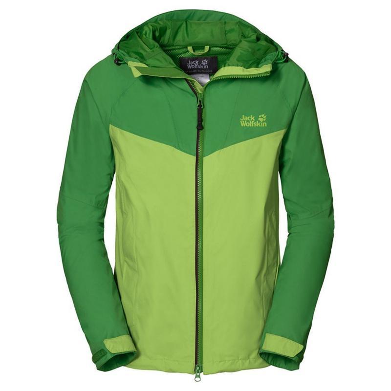 JACK WOLFSKIN ROCK Sill Jacket Fleecejacke Damen parrot green *UVP 99,95