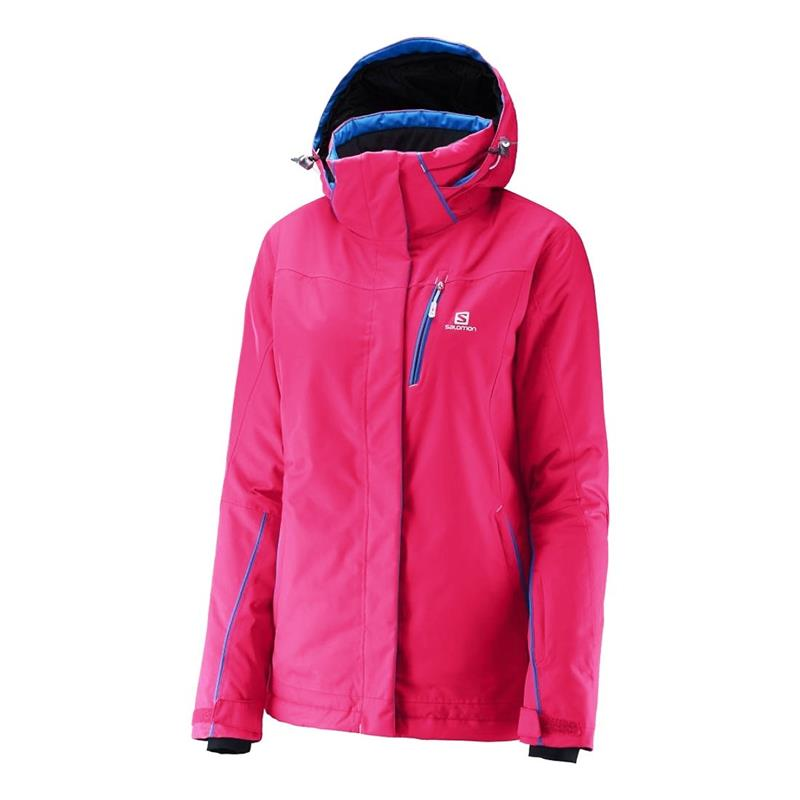 Salomon Express Damen Skijacke women hot pink *UVP 269,95
