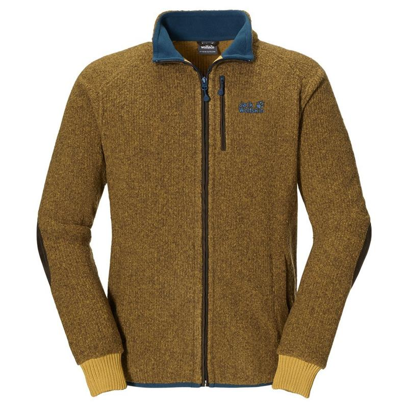 Jack Wolfskin Milton Fleece Jacke Herren golden yellow *UVP 169,95