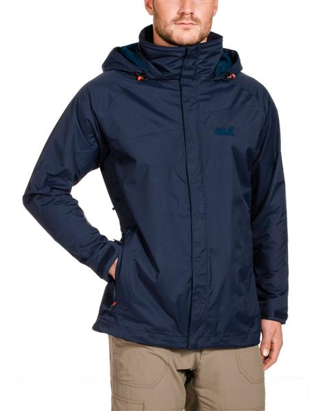 Jack Wolfskin Spark Texapore Vent Jacket Herren night blue *UVP 179,95