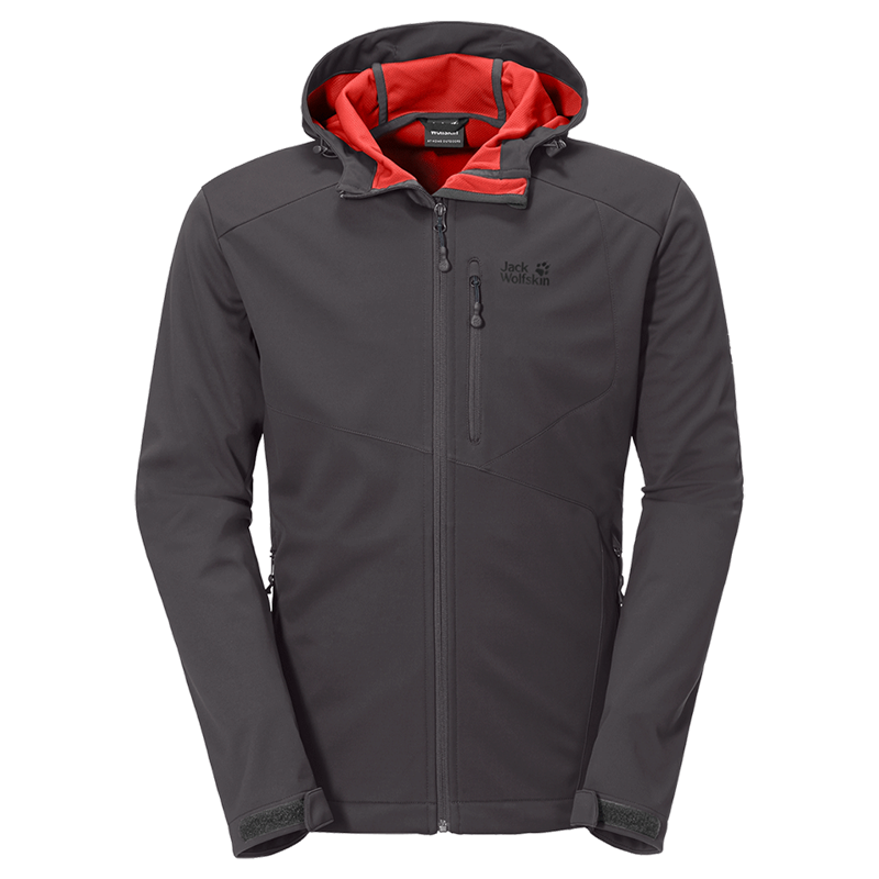 Jack Wolfskin Sonic Barrier Jacket Softshell Herren dark steel *UVP 159,95