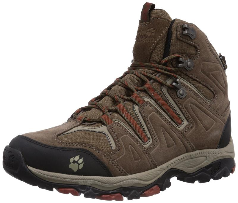Jack Wolfskin Mountain Attack Mid Texapore Herren earth orange *UVP 129,95