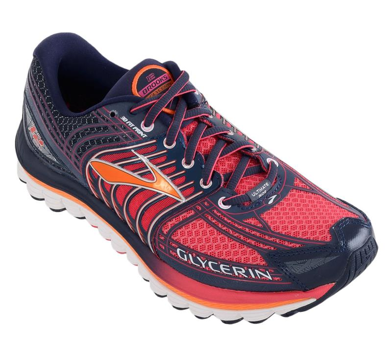 Brooks Glycerin 12 Laufschuh Damen raspberry/midnight/orangepop *UVP 159,95