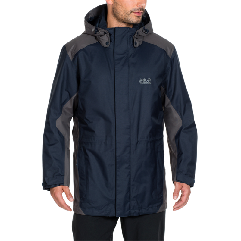 Jack Wolfskin Amply Wanderjacke Herren 1106451 night blue *UVP 179,95