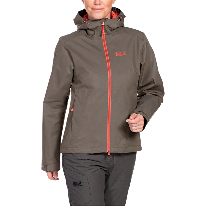 Jack Wolfskin Chilly Morning Wanderjacke Damen siltstone UVP* 149,95