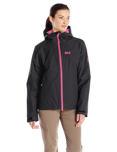 Jack Wolfskin Chilly Morning Winter Wanderjacke Damen black *UVP 149,95