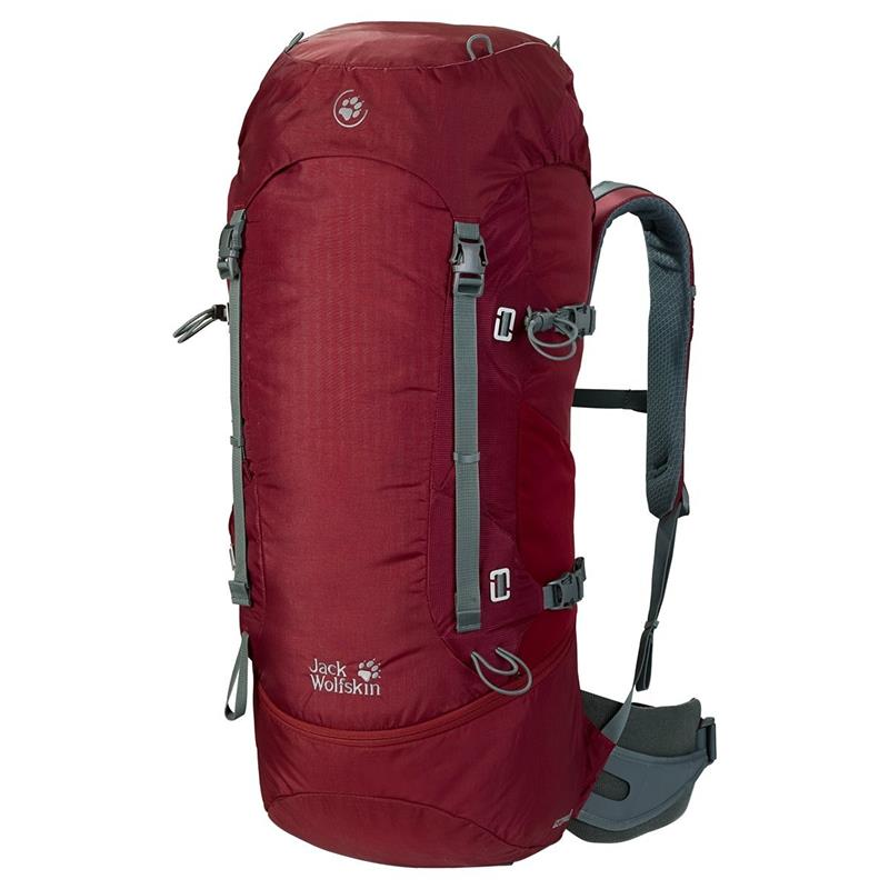 Jack Wolfskin EDS Dynamic 48 Pack 2003811 Rucksack dried tomato *UVP 199,95