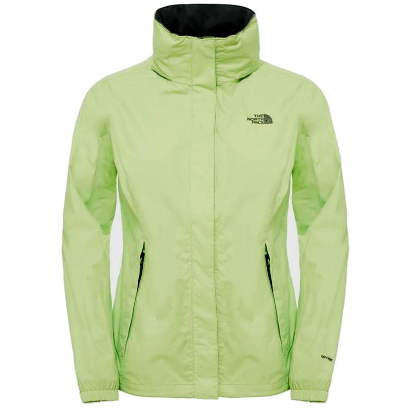 The North Face Resolve Damen Regenjacke T0AQBJ budding green UVP* 99,99