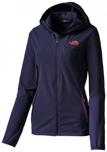 The North Face Full Zip Hoody Softshell Damen patriot blue  *UVP 150,00