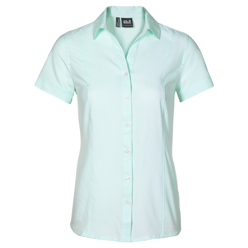 Jack Wolfskin Kepler Shirt Damen Bluse fresh breeze *UVP 54,99