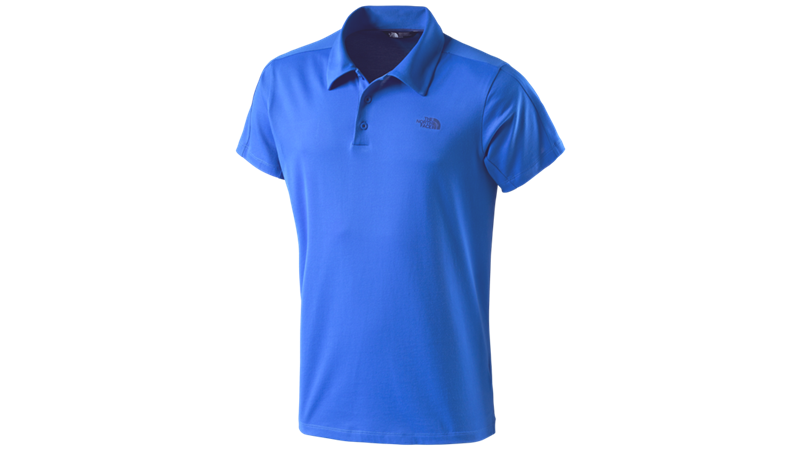 The North Face Herren Poloshirt Tech T0CEV5 blue *UVP 64,99