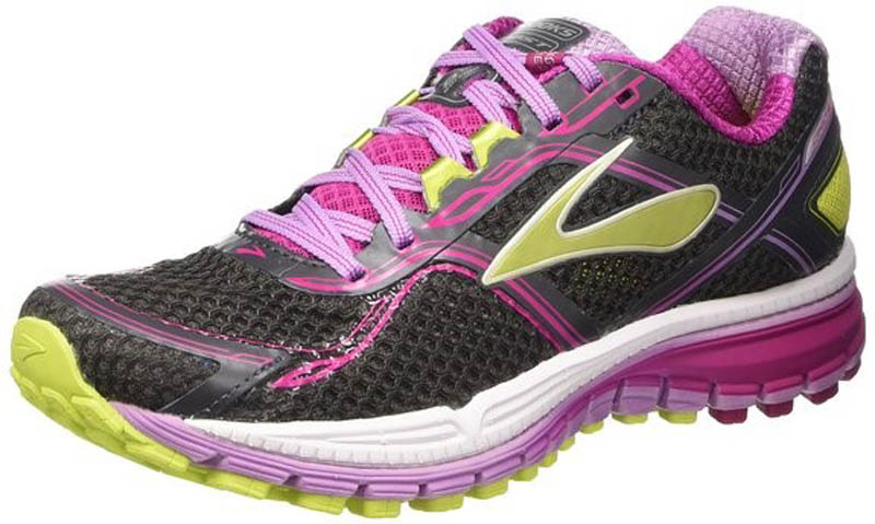 Brooks Ghost 8 1201931 Laufschuh Damen anthracite/fuchsia/lim *UVP 129,99