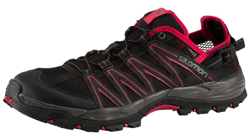 Salomon Lakewood Trekkingsschuhe Damen black/pink *UVP 89,99