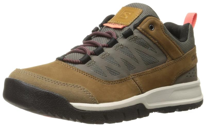 Salomon Instinct Travel women Damen 376857 Sneaker camel *UVP 109,99