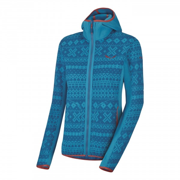 Salewa Lavaze Strickfleece Full Zip Jacke Damen caneel bay *UVP 149,99