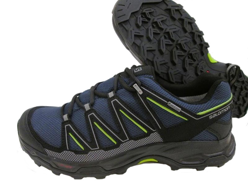 Salomon Wentwood GTX Herren Trailschuh blueblackgreen *UVP kPcAc