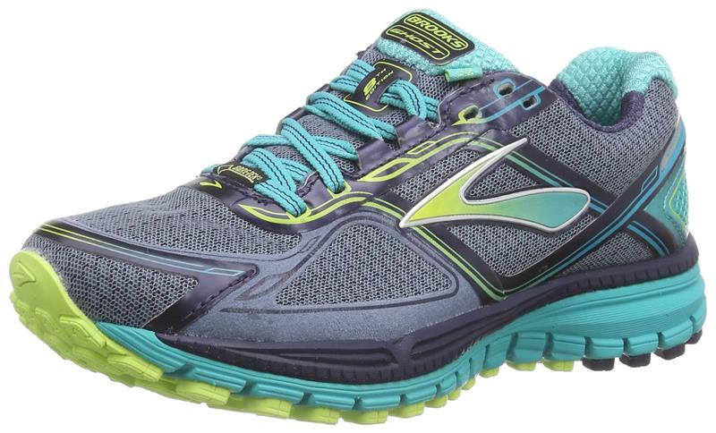 Brooks Ghost 8 GTX Laufschuh Damen 1201921 grey/green *UVP 139,99