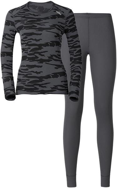 Odlo Damen Sportunterwäsche warm X-mas set grey 192071 UVP* 109,99