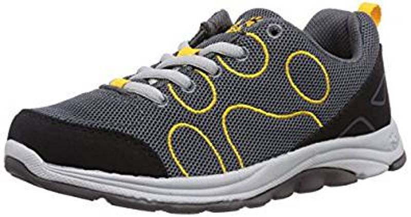Jack Wolfskin Fairport Low Kinder Sneaker burly yellow *UVP 69,99