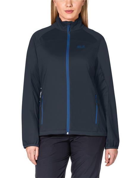 Jack Wolfskin Crosswind Softshell Jacke Damen night blue *UVP 139,99