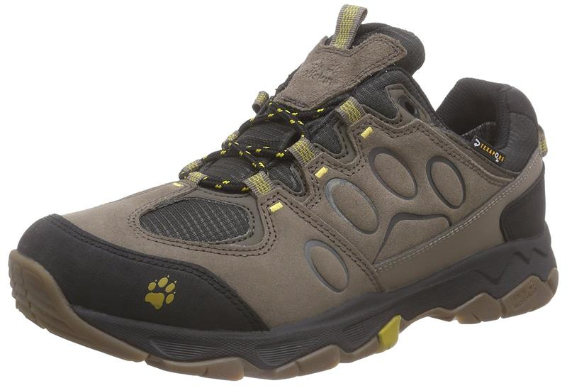 Jack Wolfskin Mountain Attack 5 Texapore Low Herren mustard  *UVP 119,99