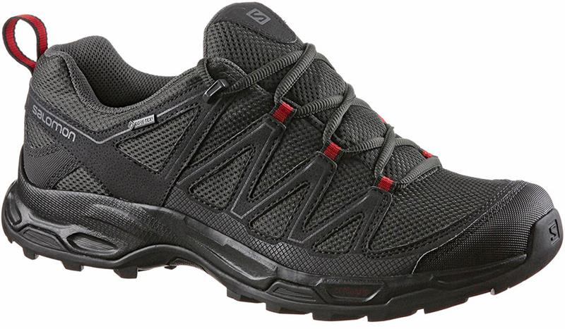 Salomon Wentwood GTX Herren Trailschuh phantom/cherry *UVP 139,99