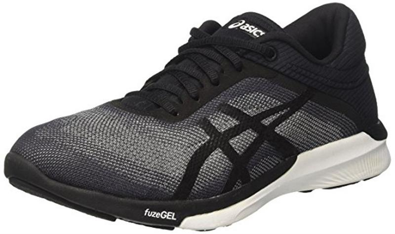 ascis fuzeX Rush Runningschuh T768N Damen grey/black/white *UVP 119,99