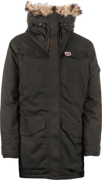 Fjäll Räven Nuuk 80631 Winter Jacke Damen black/brown *UVP 429,95