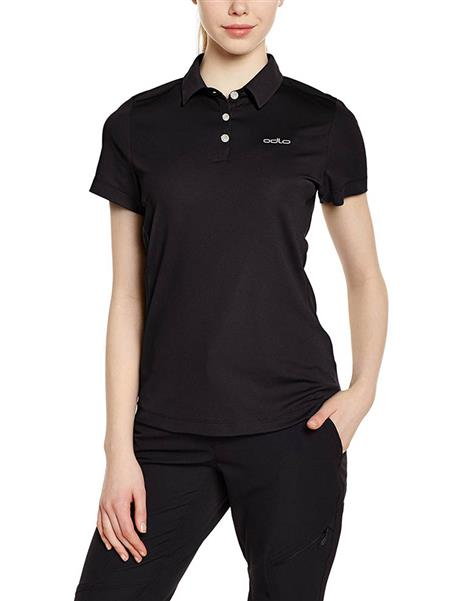 Odlo Polo Shirt s/s Tina 221791 black Damen UVP* 49,95