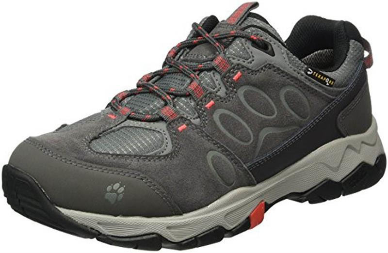 Jack Wolfskin Mountain Attack 5 Texapore Low Damen hibiscus red *UVP 119,99