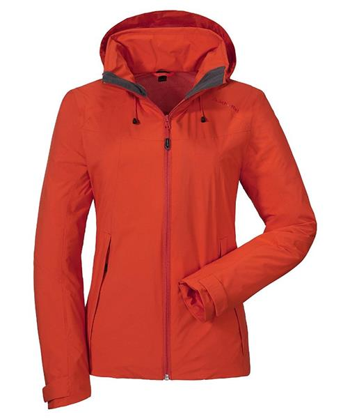 Schöffel Dynasty ZipIn Funktionsjacke Damen Venturi orange *UVP 199,99