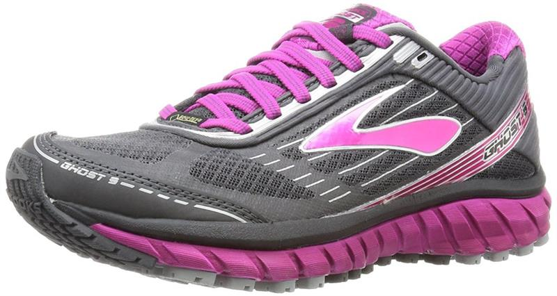 Brooks Ghost 9 GTX Laufschuh Damen Anthrazit/Pink *UVP 149,99